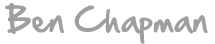Ben Chapman Counselling Logo